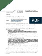 Vermont Response To PCEI