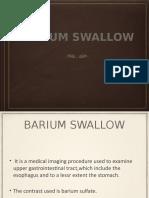 bariumswallow