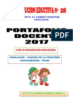 Portafolio Pedagogico 2017-Inicial 4