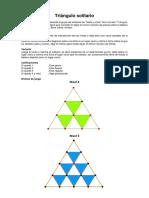 Triángulo Solitario Nivel 4