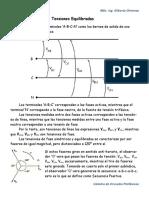Sistema Trifasico de Tensiones Simetricas y Equilibradas