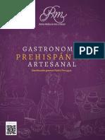 Gastronomía Prehispánica Artesanal