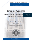 Town of Geneseo audit