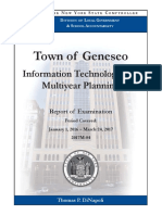 Town of Geneseo audit