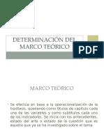 Determinación Del Marco Teórico (2)