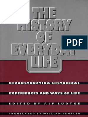 foto de 22573562 the History of Everyday Life | Social Sciences | Anthropology