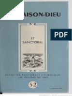 La Maison-Dieu 52 (1957) - Le Sanctoral