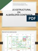 Proyecto de Albañileria