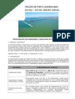 Construção de Ponte de Acesso, Pier e Quebra-mar Rev. b