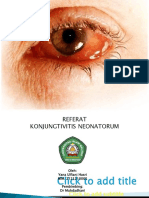 Referat konjungtivitis neonatorum