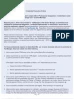 KPMG Tax Promotion Policy