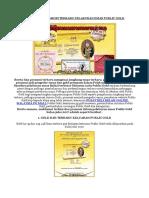 Berita Dan Promosi Terbaru Pelaburan Emas Public Gold