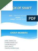 DESIGN OF SHAFT.pptx