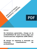 Analisis de Riesgo Ambiental y Laboral