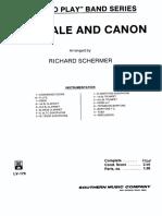 Chorale Canon