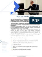 Brochure DocuClass Vendor Portal