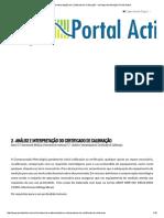 2 - Análise e Interpretação Do Certificado de Calibração - Incerteza de Medição _ Portal Action