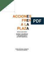 María Elena Ramos - Acciones Frente a la Plaza (1995)