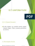 Uniform Flow