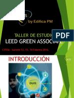 Taller LEED Green Associate - Febrero 2016-1