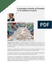 Inversion en El Ecuador