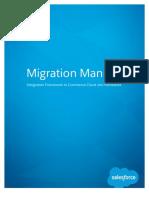 Migration Manual - Integration Framework