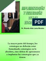 9 Implementación y Evaluación Estrategias
