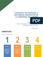 Cochilco, 2017-07 - Informe Consumo Agua y Energía 2016 Presentación