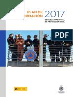 Plan de Formación 2017 - Escuela Nacional de Protección Civil