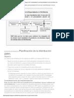 Logística Integral_ Drp_ Planeamiento de Requerimientos de Distribucion
