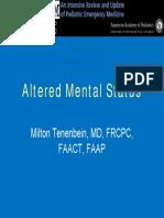 Altered Mental Status Prep