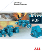 Low and High Voltage Process Performance Motors