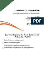 1 Oracle Database 12c Fundamentals Slides