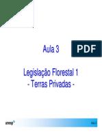 Aula Leg. Florestal- Terras Privadas