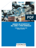 Cochilco Anuario 1987-2007