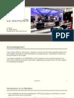 Le Meridien IT Report