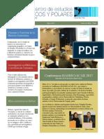 Newsletter 3  - CENTRO DE ESTUDIOS HEMISFERICOS Y POLARES