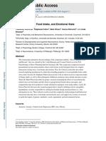 Stress Exposure Food Emotional
