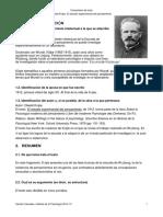 Comentario Texto El Estudio Experimental Del Pensamiento. Oswald K Lpe