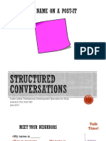 structured conversations for lit city