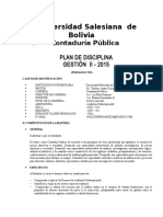 plan academico de la universidad salesiana