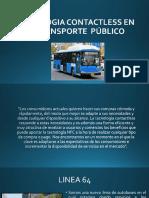Tecnologia Contactless en El Transporte Público (1)
