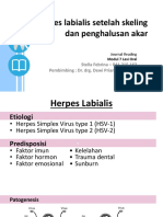 Herpes Labialis Setelah Skeling Dan Penghalusan Akar - Stella Febrina