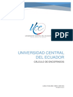 CALCULO DE ENCOFRADOS