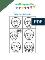 Tarjetas de Praxias