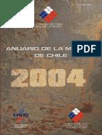 Sernageomin - Anuario 2004