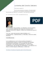 Tema 2 Documentos Del Concilio Vaticano II