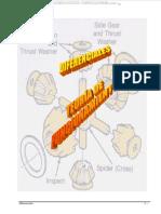 Manual Diferenciales Funcionamiento Partes Componentes Estructura Mecanismos Funciones Maquinaria Pesada