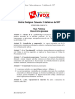 Codigo de  Comercio DL14379