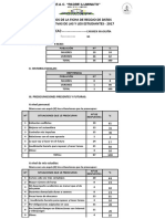 Resultados Ficha de Recojo de Datos